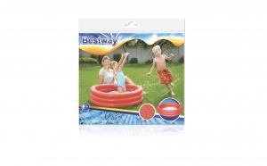 Piscina gonflabila cu cercuri, 102 x 25 cm, 3 culori disponibile, capacitate 101l