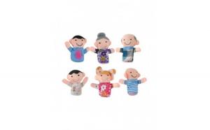 Set 6 marionete din plus pentru degete,