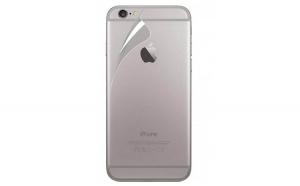 Folie plastic, Apple iPhone 6, Transparent, Spate