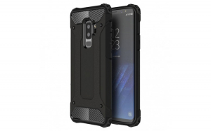 Husa Hybrid Armor Tough Rugged pentru Samsung Galaxy S9 Plus G965 black