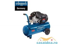 Compresor cu doi cilindri 50L HC52DC   Scheppach 5906101901