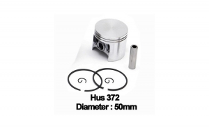 Piston complet Husqvarna 372 (50mm) -