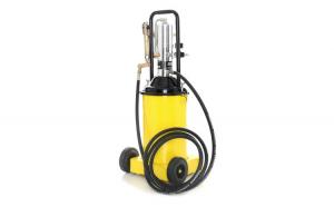 Pompa de gresat actionata pneumatic