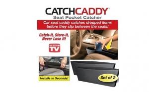 Noul suport organizator pentru masina format din 2 buzunare rezistente ce se amplaseaza intre scaunele masinii
