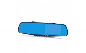 Camera Auto Oglinda Full HD SM540 + Card micro SD 16GB + priza tripla auto
