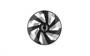 Set capace roti 15`vector rc silver and black