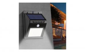 Lampa cu LED - incarcare solara si