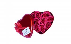 Set Cadou - 9 trandafiri din sapun
