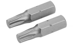 Set de varfuri de surubelnita din 2 bucati, T27x25 mm, S2 (Industrial)