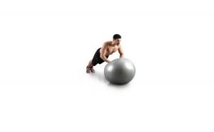 Minge Fitness Housefit, diametru 75 cm, Gri