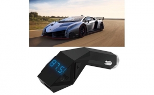 Car Kit auto Modulator FM, cu USB si Bluetooth 4.2