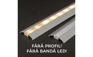 Ecran opal pt. profil LED, 2m