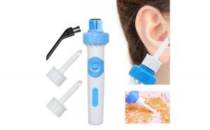 Aparat profesional de curatarea urechilor cu vibratii si micro-aspirare