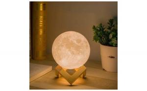 Lampa Moon 3D