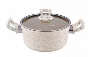 Oala 24x11cm 4.9l Granite-Crem 0189133 Hascevher
