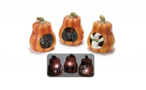 Decor ceramic Halloween led inclus, Halloween, Costume originale