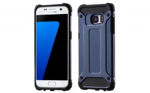 Husa Hybrid Armor Tough Rugged pentru Samsung Galaxy S7 Edge G935 navy