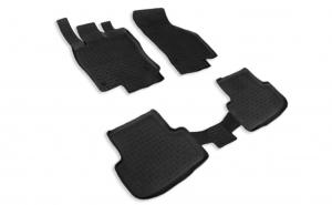 Covoare/Presuri cauciuc stil tip tavita SKODA Octavia 3 III dupa 2013-prezent (5 bucati) - SEINTEX
