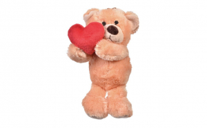Ursulet de plus bej cu inima rosie, Ziua indragostitilor, Voi doi