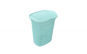 Cos pentru rufe murdare turcoaz, plastic, Decoratiuni Casa