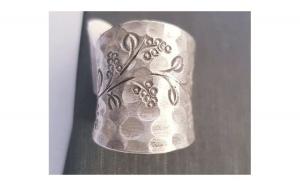 Inel din Argint - model vintage