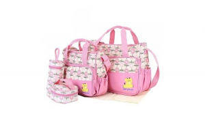 Geanta pentru mamici Mama Bag Emilia Pink