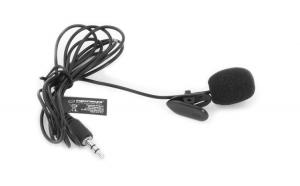Microfon lavaliera cu clip , caciula