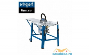 Fierastrau circular cu masa HS120o 2200 W  315 mm  2800 rpm   Scheppach 3901302915