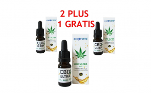 Pachet Ulei de Canepa cu cannabidiol 5%, Oncoforte CBD ULTRA Basic 5%, 30 ml