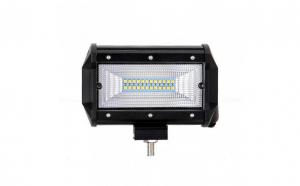 Proiector LED Bar, Off Road, patrat, 72W, 13 cm