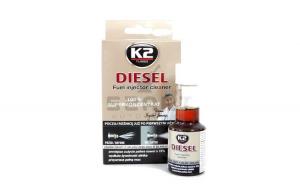 K2 Solutie curatat injectoare diesel 50