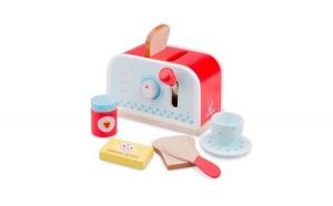 Set Toaster New Classic Toys, lemn, 18,5