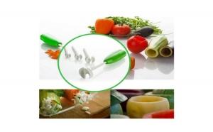 Dispozitiv pentru scobit fructe si legume - Vege Drill