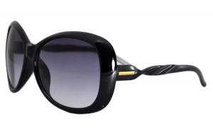 Ochelari de soare Rotunzi Funda - Negru
