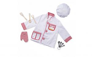 Costum de Bucatar, pentru copii vastra 4-6 ani si accesorii pentru bucatarie