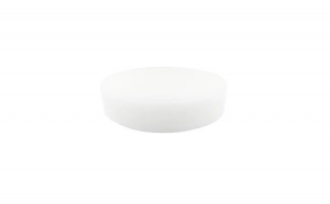 Tocator profesional pentru macelarie Cooking by Heinner Φ40 X 10CM, alb