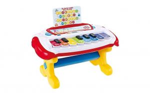 Instrument muzical cu note muzicale pentru copii, Pian electric cu inregistrare ATS