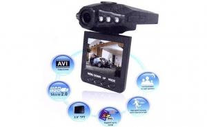 Supraveghere maxima cu Camera video Auto DVR HD, la 96 RON in loc de 225 RON
