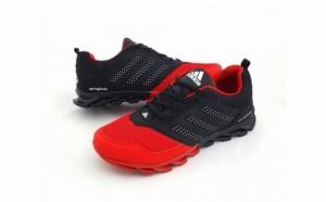 Adidasi Sport cu talpa striata Rosu-Negru la doar 139 RON