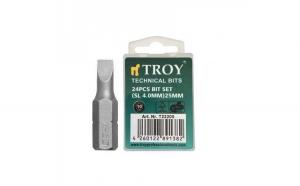 Set de biti drepti Troy T22205, SL4, 25