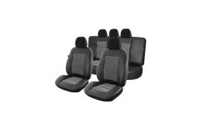 Set Huse scaune auto Volkswagen Golf V 5 2004-2008 Exclusive Leather Premium