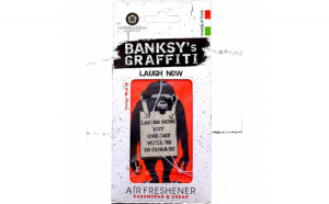 Odorizant auto Laugh Now Banksy UB27010