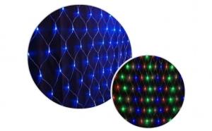Plasa de lumini cu leduri interior/exterior, interconectabila, 2,5mx2,5m, 220 leduri, la doar 65 ron in loc de 119 ron