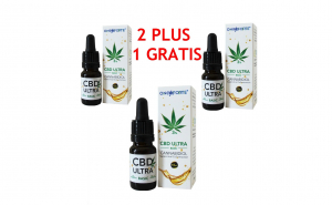 Pachet Ulei de Canepa cu cannabidiol 3%, Oncoforte CBD ULTRA Basic 3%, 30 ml