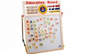 Tabla educativa magnetica pentru copii (60x40)