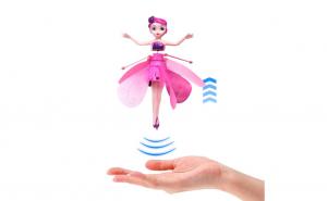 Jucaria visurilor pentru fetite: zana zburatoare, roz