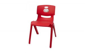 Scaun pentru copii Jumbo rosu, 58 cm, Decoratiuni Casa