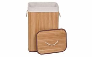 Cos de rufe din lemn de bambus