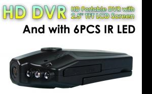 "Camera auto HD cu display 2.5"" TFT rabatabil 270 grade, 6 leduri cu infrarosu si senzor de miscare, la doar 85 RON in loc de 300 RON"