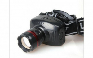 Lanterna frontala pentru Cap LED, cu zoom reglabil/flash